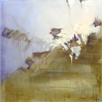 "Slide, 30""x30"", Oil on Canvas (2003)"