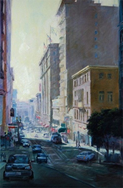 "Powell & Sutter, 36""x24"", Oil on Canvas (2008)"
