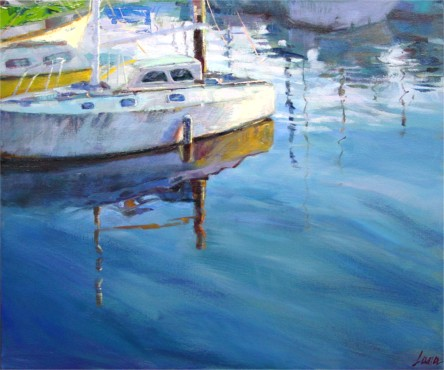"Reflections, 20""x24"", Oil on Canvas (2004)"